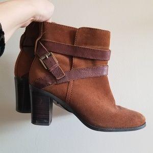 Ralph Lauren suede ankle boots